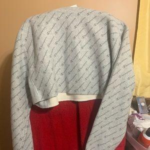 Champion crop top sweatshirt